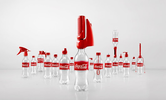 coca-cola campaign gives old bottles '2nd lives' with 16 functional caps - designboom | architecture & design magazine