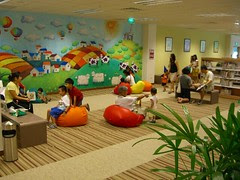 Children's Section JWCL Mural