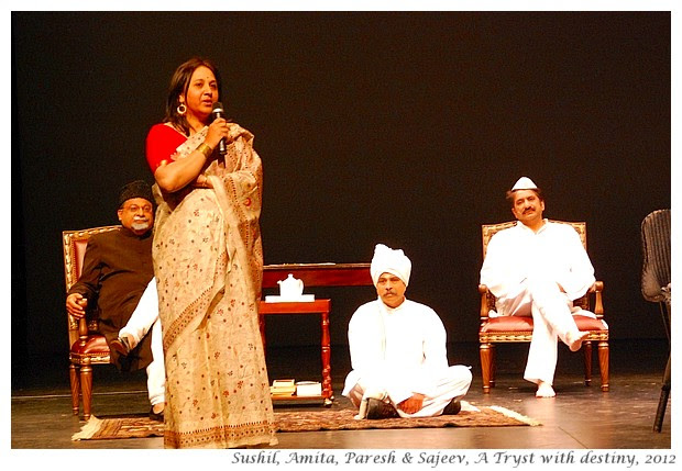 A Tryst with Destiny, a play by Amita Deepak