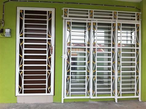 latest iron steel window grill design  modern