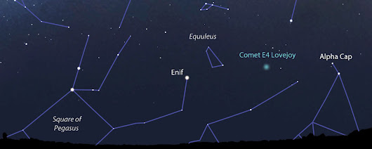 See Mercury At Dusk, New Comet Lovejoy At Dawn - Universe Today