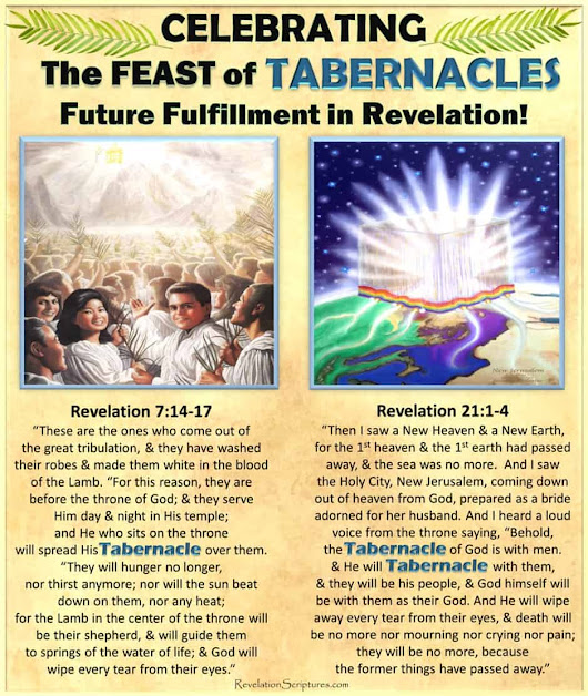 Celebrating the Feast of Tabernacles Fulfillment in the Book of Revelation! - 8th Day - Booths - Sukkot - Ingathering - The Book of Revelation