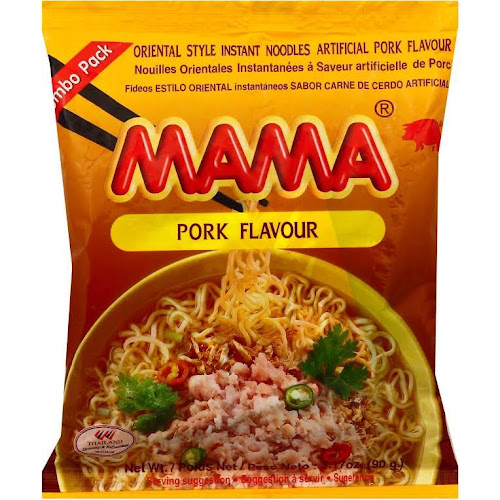 Mama Pork Instant Noodles - 3.17 oz packet