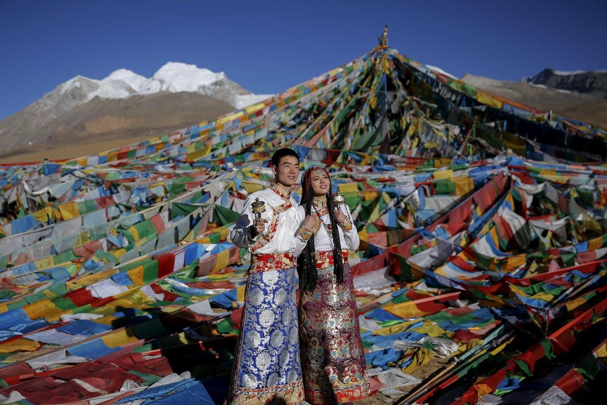 27 belas fotos de vestidos tradicionais de casamentos por todo o mundo 14