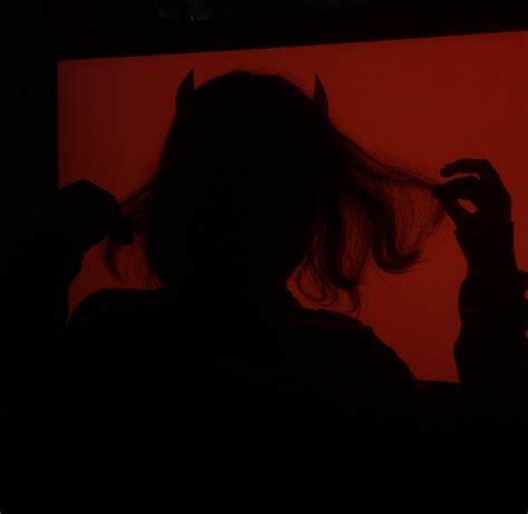 devil girl   red aesthetic demon