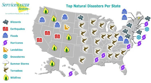Natural Disasters in the US: A Map of Where We Stand