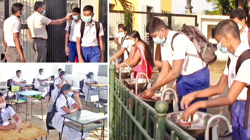 Back to school amid health and safety protocols