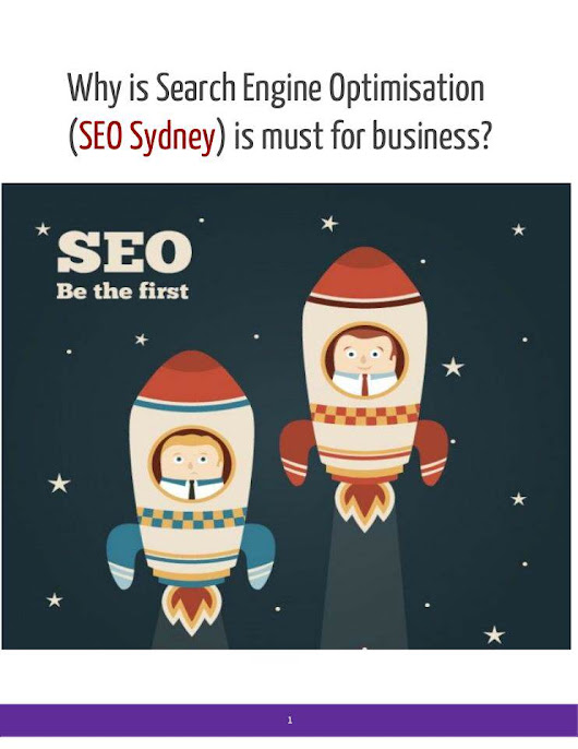 Search Engine Optimisation  (SEO Sydney) is must for business