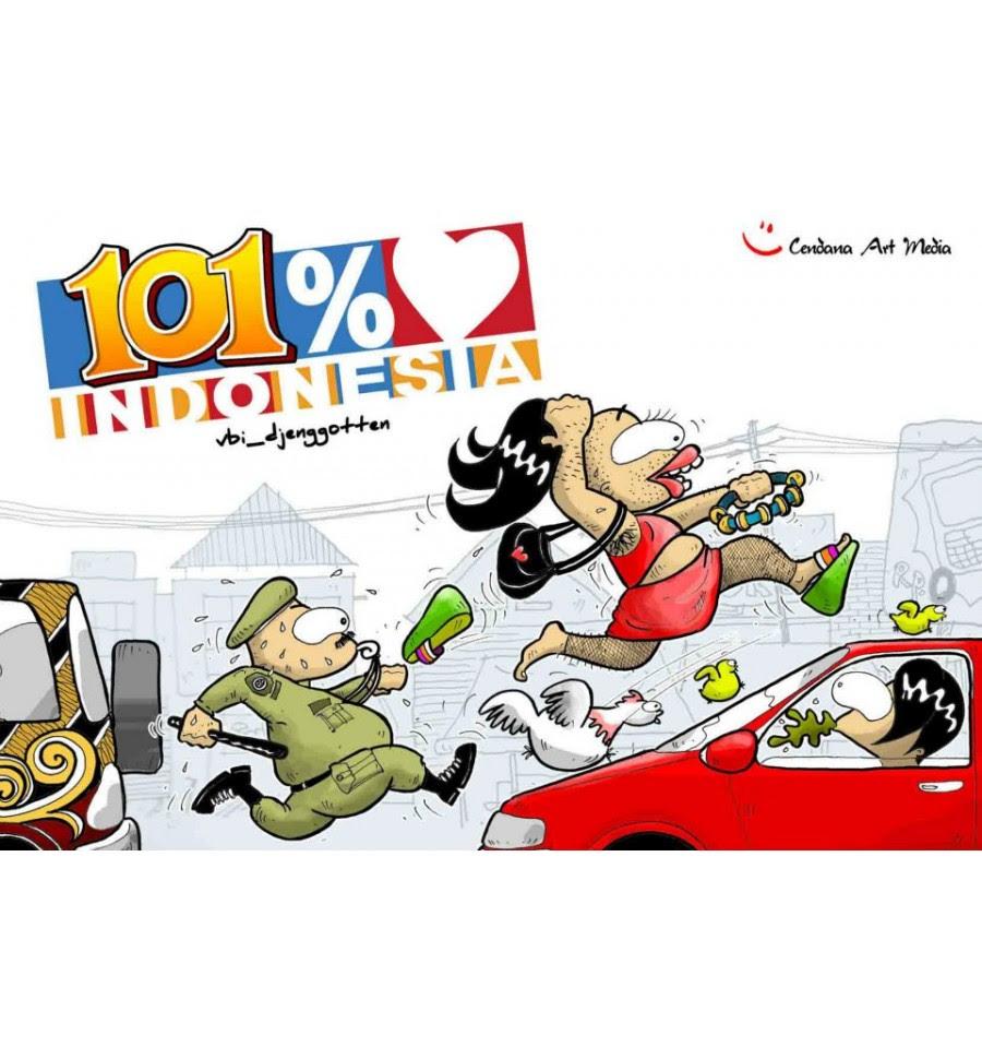 Komik 100 Cinta Indonesia Cyonpark