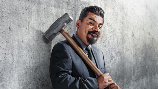 George Lopez Smashes His Way Through Stage 2 - Thunder Studios