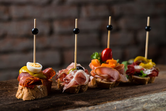 Catering - hiszpańskie finger food - WeCatering