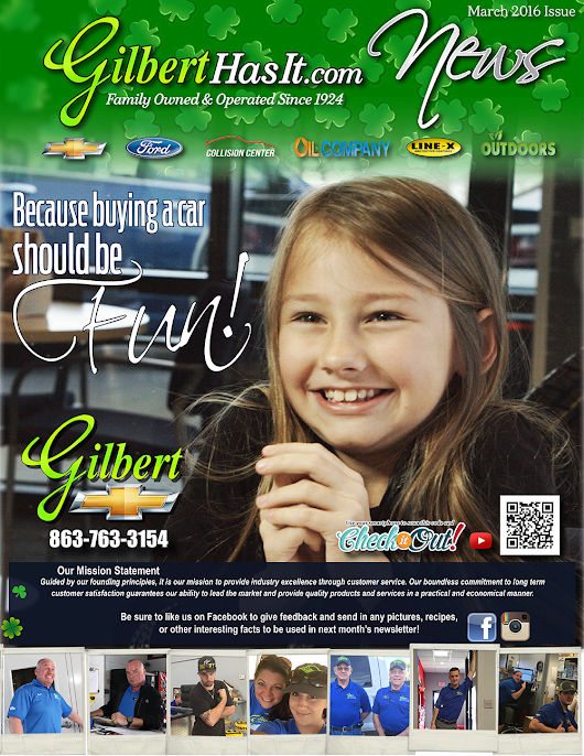 Newsletters | Ford Sales & Rebate Offers, Gilbert Ford Community Involvement in Okeechobee, FL