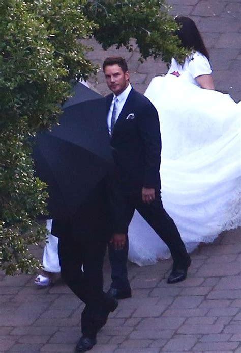 Chris Pratt & Katherine Schwarzenegger Share First Wedding