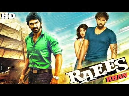 Raees Khan Hindi Dubbed Movie HDRip 400MB