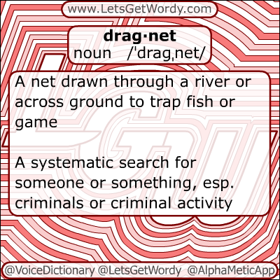 Dragnet 12/16/2012 GFX Definition of the Day