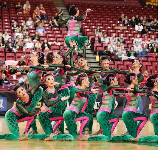 Team Spotlight: Hazen Drill Team's Smooth Routine Brings Them a State Championship!