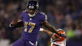Ravens' Mike Wallace ruled out vs. Vikings with concussion | NFL | Sporting News