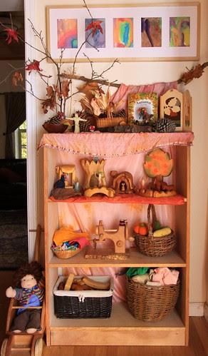 Nature Shelves