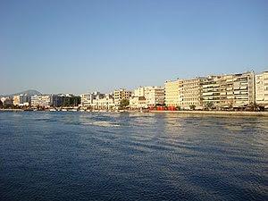 View of the city of Chalkida, Greece Ελληνικά:...