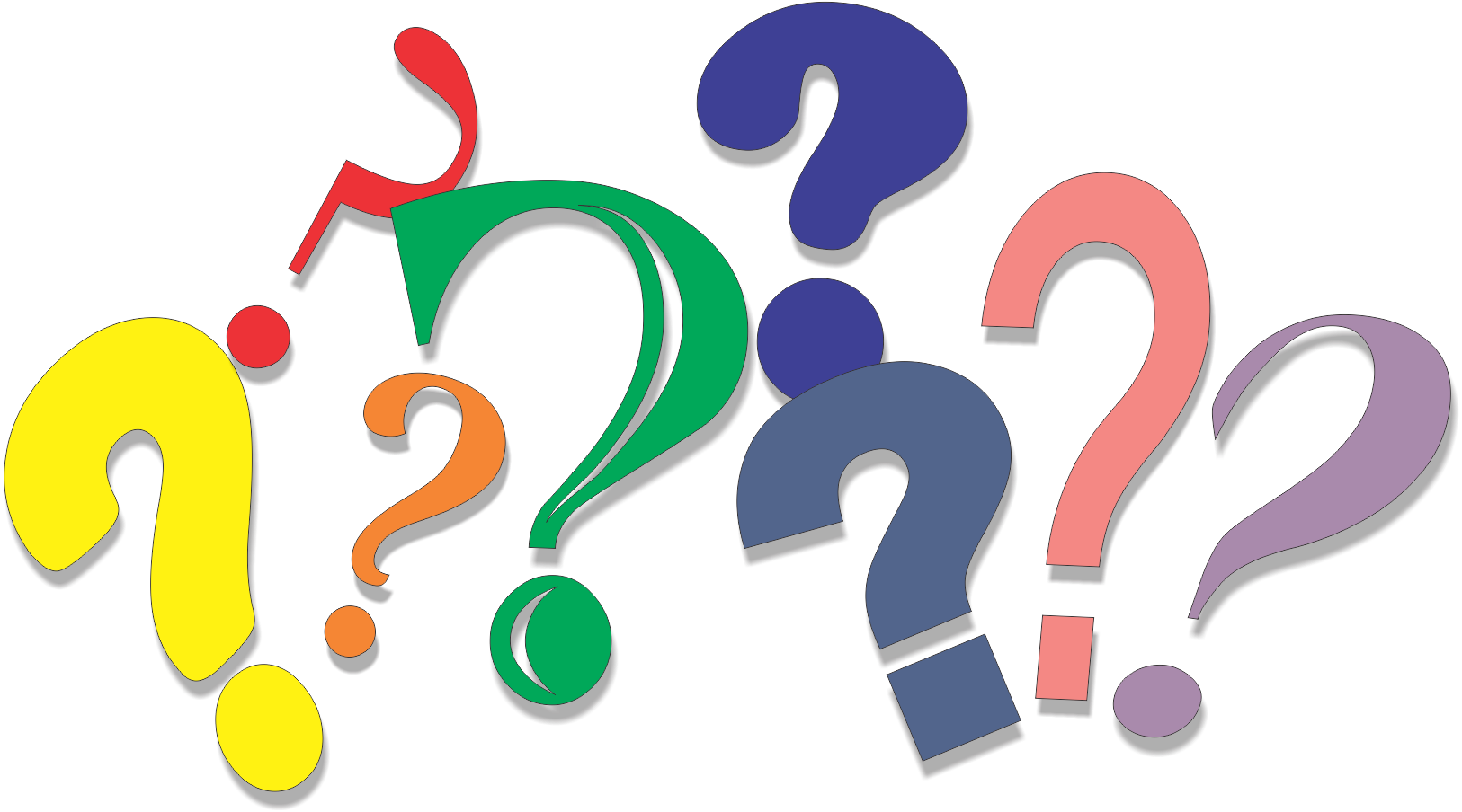 Question mark Drawing Clip art - question png download ...