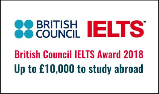 British Council IELTS Award for International Students | HelpToStudy.com