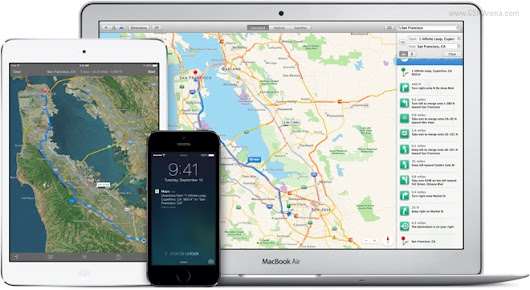 Apple Maps usage rises as Google Maps drops sharply