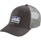 Patagonia Forge Grey Shop Sticker Patch LoPro Trucker Hat