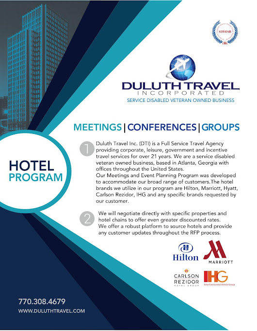 Hotel Managemnt Program for Corporate Travel- Duluth Travel