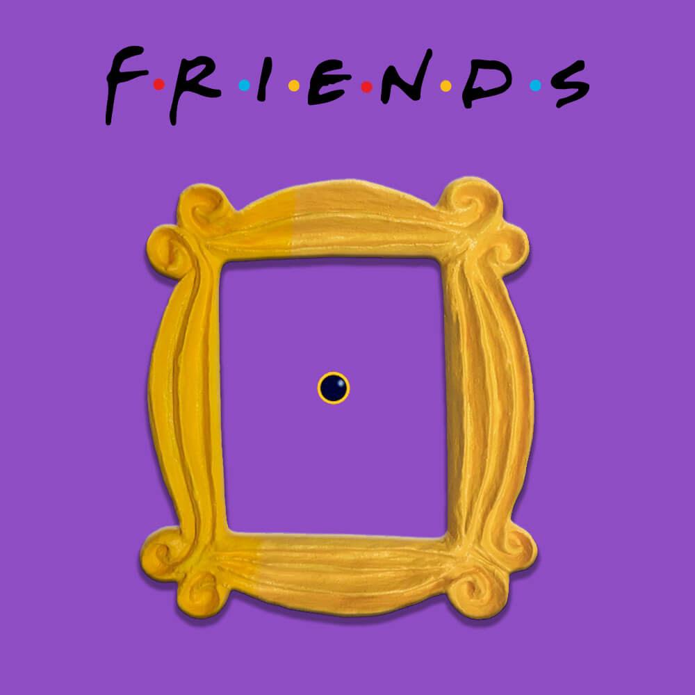 Friends Show Frame Mini Fridge Magnet 90s Tv Show Monicas
