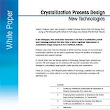 Crystallization Process Design | Free White Paper