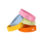Pure Garden Mosquito Repellent Wristband, Assorted - 5 pack
