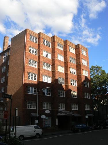Apartments, Elizabeth Bay