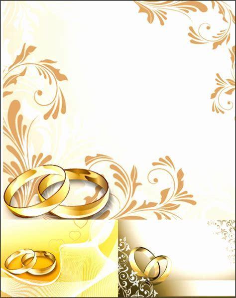 7 Photoshop Wedding Invitation Templates Psd Free Download