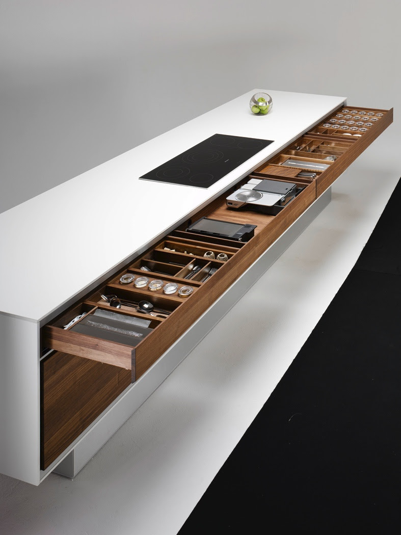 Modular Kitchen Cabinets - Drawers