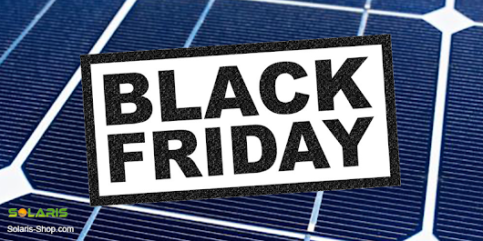 Black Friday Solar Panel Deals 2017