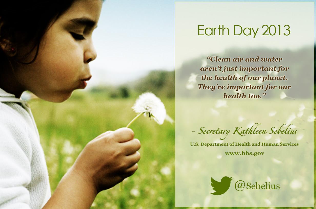 Secretary's Earth Day Infographic