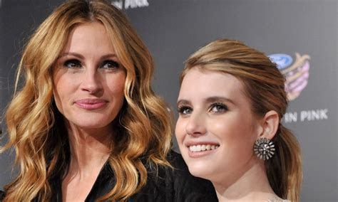 Emma Roberts on taking style cues from aunt Julia Roberts
