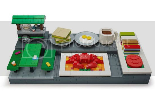LEGO® Singapore Limited Edition Food Culture Mini-Builds