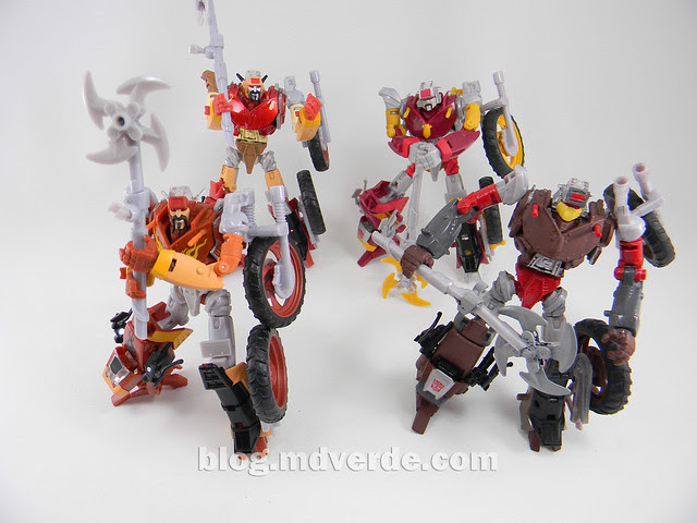 Transformers Scrapheap United Deluxe - Custom - modo robot vs Junkions
