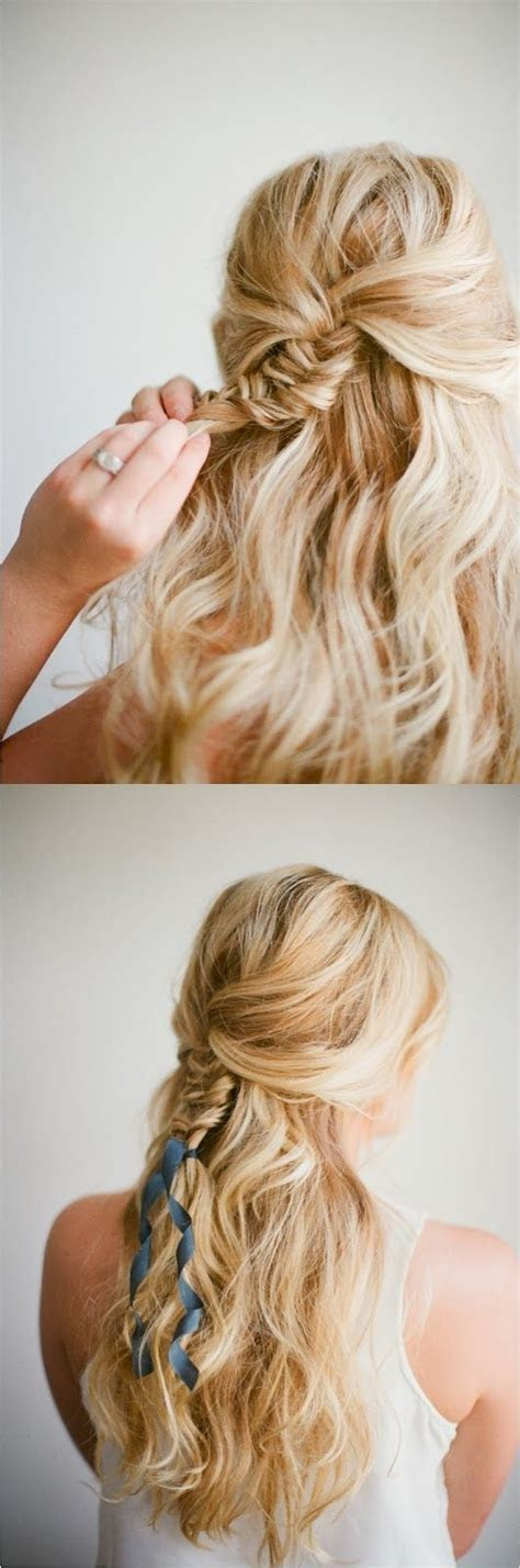 12 Pretty Hairstyles with Ribbons   Pretty Designs