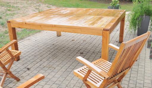 6 handcrafted naturel ardoise square sets de table et 6 sous-verres plateaux 25 x 25CM.