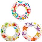 Intex Inflatable 20-Inch Lively Ocean Friends Print Kids Tube Swim