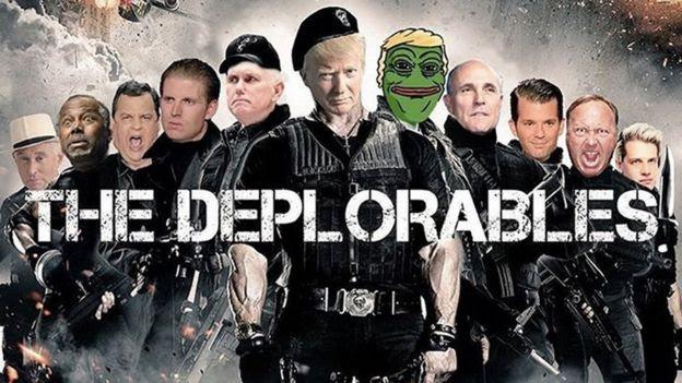 Donald Trump y Pepe el Sapo en un meme