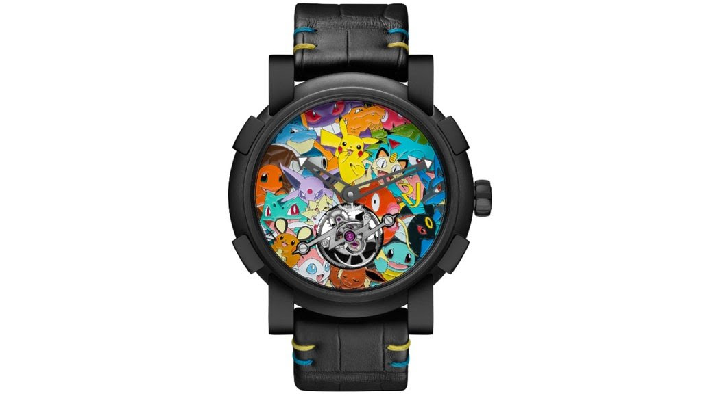 This hideous designer Pokemon watch costs $258,000 screenshot