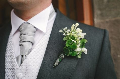 Shamrock buttonhole, Irish wedding   weddings [simple