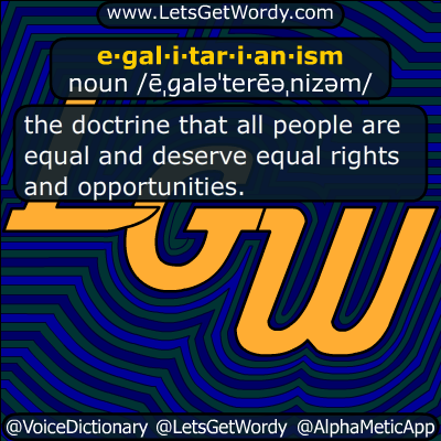 egalitarianism 08/29/2017 GFX Definition