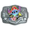 Pirate Stitch Belt Buckle