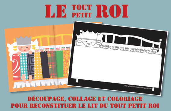 LE TOUT PETIT ROI - DECOUPAGE / COLLAGE