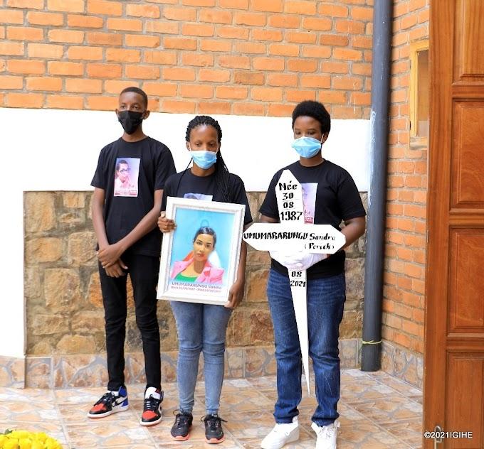 Sandra wamamaye muri filme nyarwanda yashyinguwe. – YEGOB #rwanda #RwOT