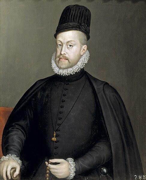 Archivo: Retrato de Felipe II de España por Sofonisba Anguissola - 002b.jpg